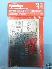 Aoshima Beemax Toyota Celica GT-Four ST165 WRC Rally Photo Etched Detail Up Part