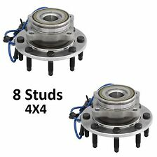 1999-2004 GMC Sierra 2500 (4WD) Front Wheel Hub Bearing Assembly (4x4)-PAIR
