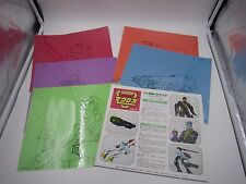 Super Dimension Fortress Macross Paint your Own Cel Zentradi Set of 5 Robotech