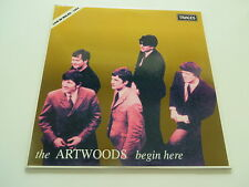 THE ARTWOODS Begin Here Live in Wales 1964 TRACES  Vinyl / Cover : MINT TOPCOPY