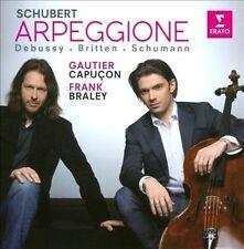 Arpeggione-Schubert Debussy Britten & Schumann, New Music
