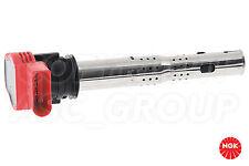 New NGK Ignition Coil For AUDI A4 B6 2.0 FSi Avant Estate 2002-04