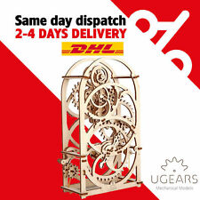 UGears Timer for 20 mins mechanical wooden model KIT 3D puzzle Assembly