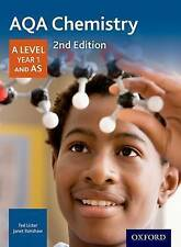 AQA Chemistry A Level Year 1 & AS Student Book, Janet Renshaw, Ted Lister NEW