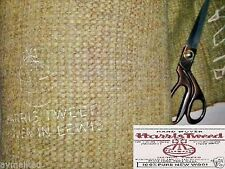 Original Harris Tweed Hand Woven Pure wool fabric with Label.