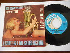 """THIS `N`THAT I can´t Get No Satisfaction STRIKE Rolling Stones Cov RARE 7""""Garage"""