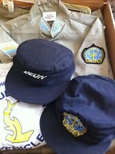 SEAQUEST TV Original Prop Costume-LOT Uniform, Hats,STEVEN SPIELBERG. RARE. NBC