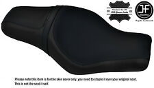 DESGN 2 BLACK STITCH CUSTOM FOR HARLEY SPORTSTER 883 1200 TWOUP VINYL SEAT COVER