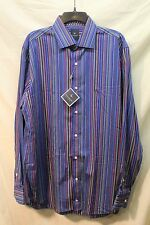 MENS SHIRT TAILORBYRD XL MULTI COLOR L/S NWT STK H6960