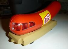 Plastic Oscar Mayer Wienermobile Bank VINTAGE W/BOX Model Car Mountain