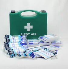 10 Person HSE Compliant Workplace First Aid Kit High Quality Kit Box Complete QC