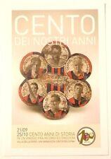 Cartolina Centenario Bologna Calcio 1909-2009 - Cento Dei Nostri Anni