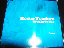 Rogue Traders Give In To Me Australian Remixes CD Single
