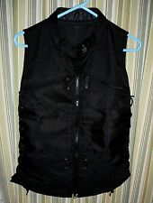 UTG Sportsman Shooting Tactical Motorcycle vest.Pinch/cinch lace up sides MENS