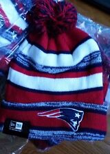 New England Patriots winter Knit Hat Beanie with Pom Tom Brady