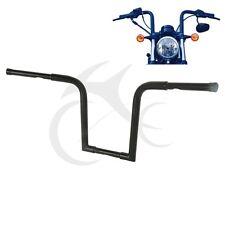 """1-1/4"""" Fat 14"""" Rise Ape Hanger Bar Handlebar For Harley FLST FXST Sportster XL"""