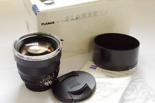 Carl Zeiss 85mm f1.4 Planar T* ZF lens for Nikon, complete in box