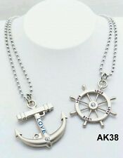 Couple Necklace metal alloy