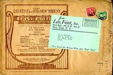 Leo Feist Dance Hits New York Music Publishing Printed Matter cover envelope