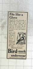 1909 Bird Mark Underwear Fits Like A Glove