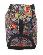 Multicolour Patchwork Batik Backpack 48x28x20cm .. also converts to duffle bag