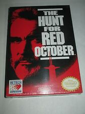 The Hunt for Red October (Nintendo Entertainment System NES, 1991) NEW Sealed