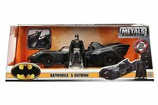 Jada 1989 Batmobile with Batman Figure 1:24 98260 BK