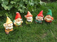LATEX MOULD/MOULDS/MOLDS   . 5 PIECE CHUBBY GNOME SET (2017)