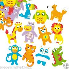 20 FOAM BABY ANIMALS STICKER CHILDREN CARD MAKING SCRAPBOOKING EMBELLISHMENTS