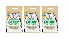 CATNIP DROPS x2 packs of 40g Cat Treats GOOD GIRL Flavoured With REAL Catnip