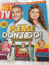 ALISON KING & SHAYNE WARD PHOTO COVER HOT TV MAGAZINE - 15 AUGUST 2015 - NEW