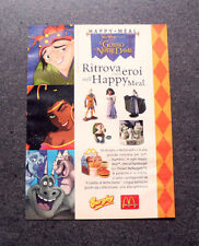 I456-Advertising Pubblicità- 1996 - HAPPY MEAL , BURGHY