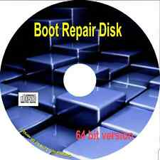 BOOT REPAIR , Old PC to new Uefi Recover access to Operating Systems. 64 bit cd
