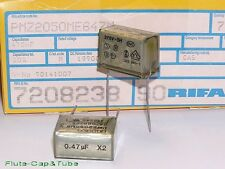 4pcs RIFA 0.47uF 275Vac Early stage EMI suppression Class X2 Capacitor.PMZ2050