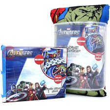 Marvel Avengers 4pc Full Bedding Comforter Set Iron Man, Captain America, Hulk