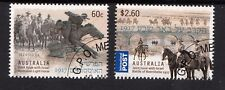 2013 Australian Decimal Stamps- Joint Issue with Israel - Beersheba CTO set of 2