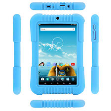 "Blue iRULU 7"" BadyPad Android 5.1 A33 Quad Core 1/16GB Kid's Learning Tablet PC"