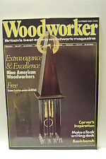 Woodworker Magazine. October, 1987. Volume 91, number 10. Teak writing desk.