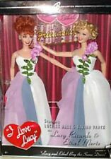 2004 Mattel I love Lucy Lucy and Ethel Buy The Same Dress Barbie Doll