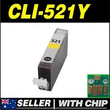 1x Yellow Ink for Canon CLI521 CLI521Y MP620 MP630 MP640 MP980 MP990 MX860 MX870