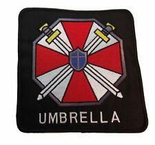 "RESIDENT EVIL X-LARGE UMBRELLA Corporation Logo Jacket 5 1/2"" Tall PATCH"