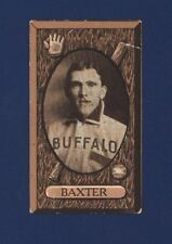 1912 IMPERIAL TOBACCO C46 No.80 WILLIAM BAXTER Buffalo !!