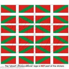 Euskadi Vasco Vasco Flagge Spanien Fahne práctico mini-aufkleber, pegatina X6