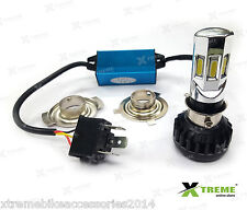 6 LED 35w M02E-B HID Head Light 3500 lm For TVS Scooty Streak