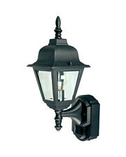 Heath Zenith HZ-4191-BK Black 180 Degree Motion Actived Decorative Light