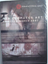 MFA School of Visual Arts Computer Art Selected Works 2007 New Sealed 3 Discs