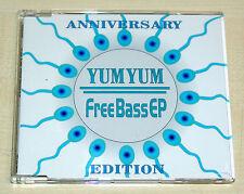 YUM YUM - FREE BASS EP CD -- FREEBASS E.P. MAXI CD - SPERM RECORDS