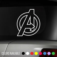AVENGERS Marvel Iron Man Captain America Comics superhero Vinyl Decal Sticker