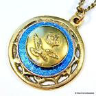 1940s WW2 RAF Badge Sweetheart Pendant Necklace - Trench Art - Royal Air Force