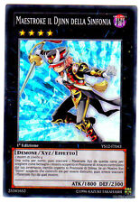 MAESTROKE IL DJINN DELLA SINFONIA YS12-IT043 (Played) Super Rara Italiano YUGIOH